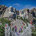 Mount Rushmore National Memorial by Debra Martz