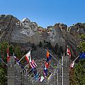 Mount Rushmore National Memorial by John M Bailey