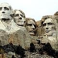 Mount Rushmore Presidents by Clarice  Lakota