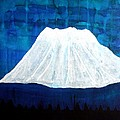 Mount Shasta Original Painting by Sol Luckman