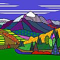 Mount Sneffels by Randall Henrie