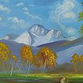 Mount Sneffels San Juan Mountains Colorado by Patricia Kimsey Bollinger