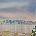 Mount Susitna by Teresa Ascone
