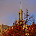 Mount Timpanogos Lds Temple by Nathan Abbott