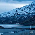 Mount Timpanogos Winter Evening by Gary Whitton