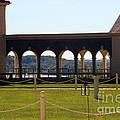 Mount Vernon Colonnade by Patti Whitten