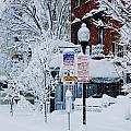 Mount Vernon Snow Land by Marcus Dagan