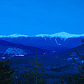 Mount Washington And The Presidential Range At Twilight From Mount Sugarloaf by John Burk