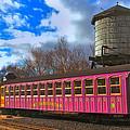 Mount Washington Cog Railway by Joann Vitali