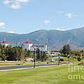 Mount Washington Hotel In New Hampshires White Mountains by Eunice Miller