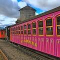 Mount Washington Railway by Joann Vitali