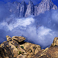 Mount Whitney Alabama Hills California by Dave Welling