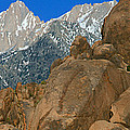 Mount Whitney, Lone Pine, California by Panoramic Images