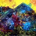 Mountain 120928-2 by Aquira Kusume