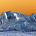 Mountain Abstract  by Eunice Miller