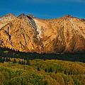 Mountain Autumn Sunrise by Bill Sherrell