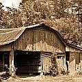 Mountain Barn 1 by Douglas Barnett