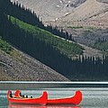 Mountain Canoes by Marcia Socolik