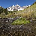 Mountain Co Maroon Bells 20 by John Brueske