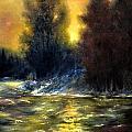 Mountain Creek by Zbynek Jablonecky