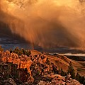 Mountain Drama by Leland D Howard