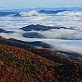 Mountain Fog - Blue Ridge Parkway by Mountains to the Sea Photo