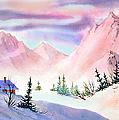 Mountain Glow by Teresa Ascone