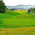 Mountain Golf by Frozen in Time Fine Art Photography