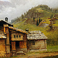 Mountain House  by Albert Bierstadt