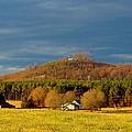 Mountain In North Carolina by Cynthia Guinn