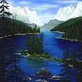 Mountain Lake Canada by Patrick Witz
