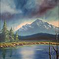 Mountain Lake by Daniel Jakus