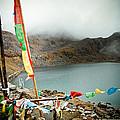 Mountain Lake Gosaikunda Himalayas by Raimond Klavins