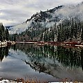 Mountain Lake Reflection by Rick Lawler