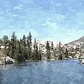 Mountain Lake Retreat by Sara  Raber