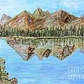 Mountain Lake by Yana Volodina