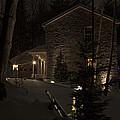 Mountain Lodge by John Stephens