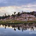Mountain Mirror View by Daniel Dodd