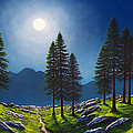 Mountain Moonglow by Frank Wilson