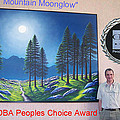 Mountain Moonglow Mural by Frank Wilson