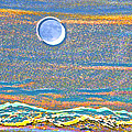 Mountain Moonrise 2 by Lenore Senior