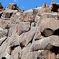 Mountain Of Boulders by Marilyn Burton