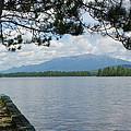 Mountain Of The People Of Maine by Georgia Hamlin