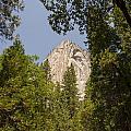 Mountain Peak In Yosemite National Park by Bob Phillips