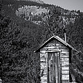 Mountain Privy Bw by Julie Magers Soulen