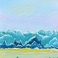 Mountain Range by Sherry Allen