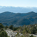 Mountain Range, White Mountains by Panoramic Images