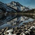 Mountain Reflection by Erika Fawcett