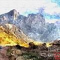 Mountain Road by Gert J Rheeders