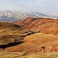 Mountain Scenary Near Zanjan In Iran by Robert Preston